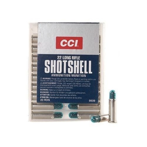 .22EXLR CCI Shotshell (brokový), 20 ks