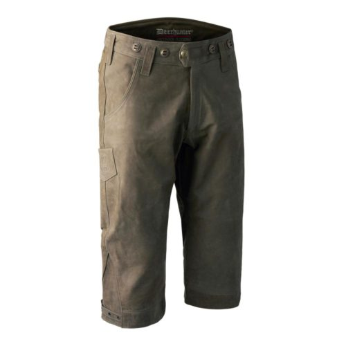 DEERHUNTER Strasbourg Leather Breeks | kožené golfky