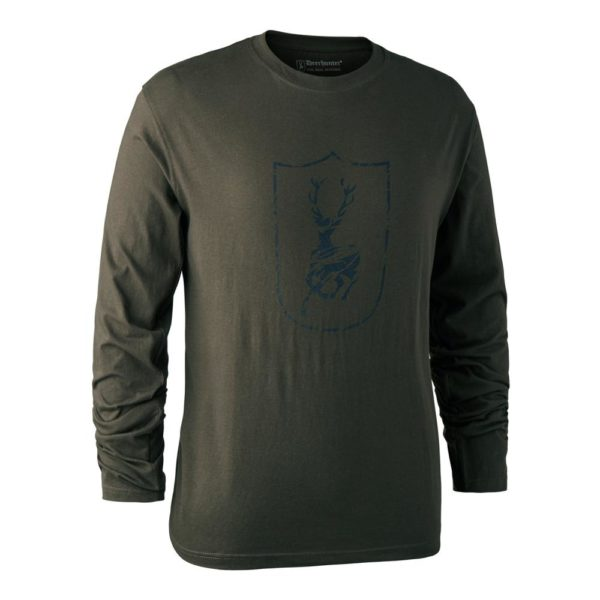 DEERHUNTER Shield Logo T Shirt -nátelník